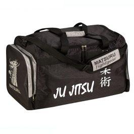 Geanta mare Ju Jitsu, negru-argintiu