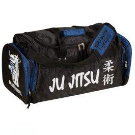 Geanta mica Ju Jitsu, negru-albastru