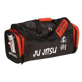 Geanta mica Ju Jitsu, negru-rosu