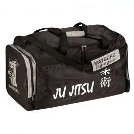 Geanta mica Ju Jitsu, negru-argintiu